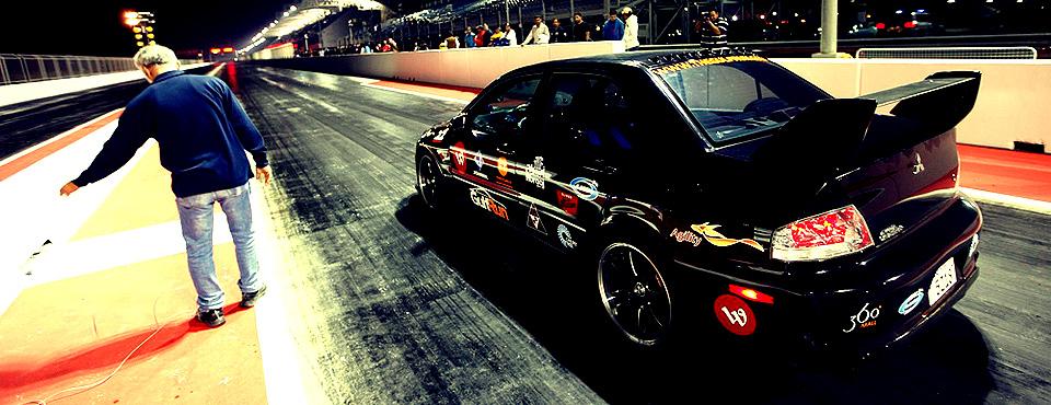 Drag: Mitsubishi EVO 8